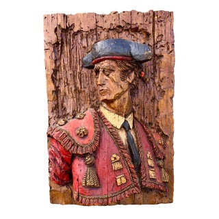 Spanish Fiberglass Matador Relief by Vangaurd For Sale