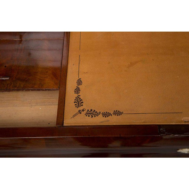 19th Century Danish Biedermeier Bureau Secretary Desk - Image 6 of 10