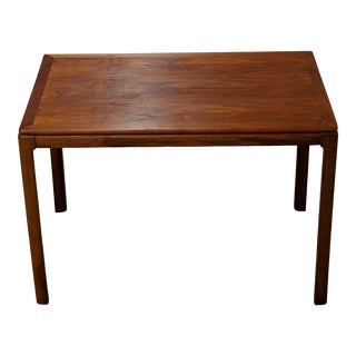 Danish Modern Teak End Table by Dux For Sale