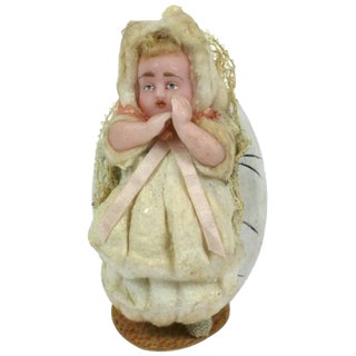 German Wax Baby Candy Container For Sale