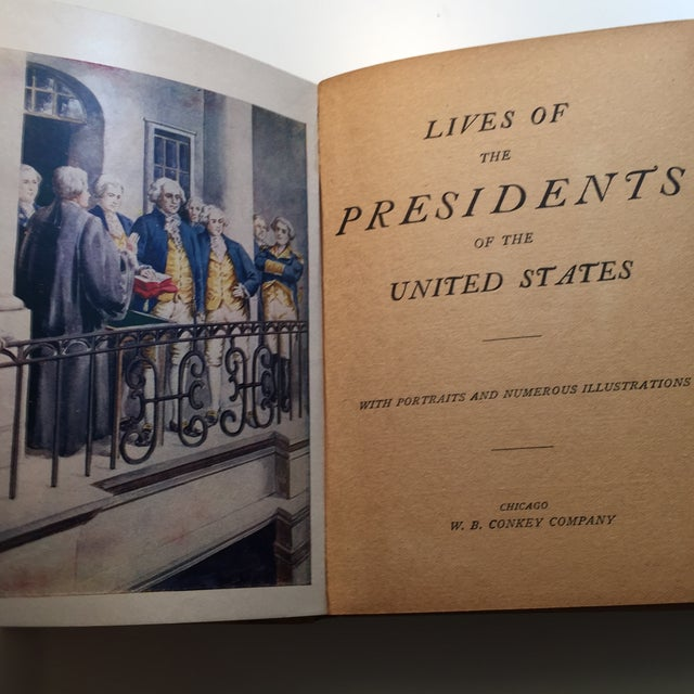 Lives of the Presidents of the United States 1900 - Image 3 of 11