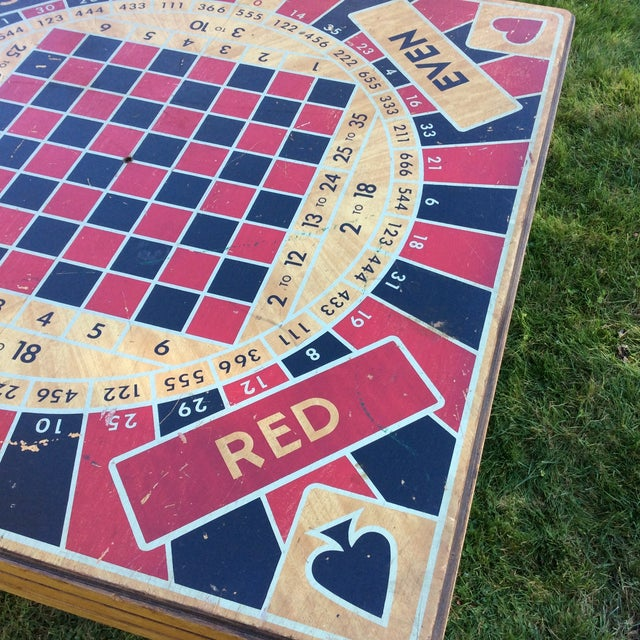 Vintage Five in One Game Table For Sale - Image 5 of 10