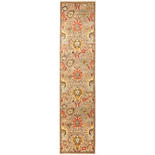 """Blossom, Eclectic Area Rug - 2' 8"""" X 11' 7"""" For Sale"""
