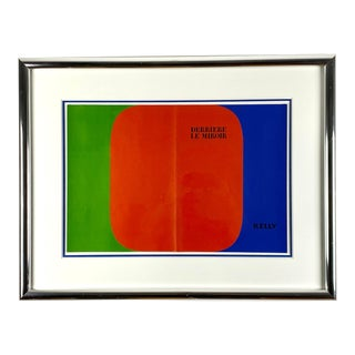 Ellsworth Kelly Color Lithograph for French Art Magazine Derrière Le Miroir For Sale