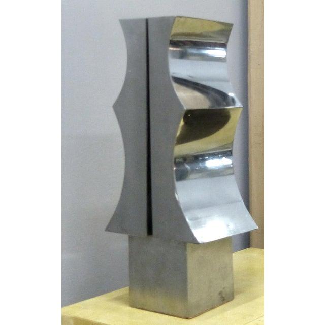 1970s Modernist Aluminum Sculpture by Yutaka Toyota - Image 6 of 11