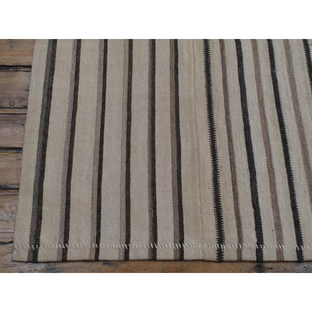 Large Striped Kilim For Sale In New York - Image 6 of 7