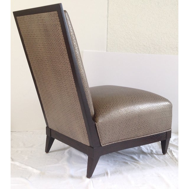 Donghia Panama Occasional Chairs - A Pair For Sale - Image 9 of 11