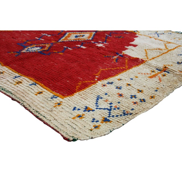 Moroccan Rug - 4'10'' X 4'1'' - Image 2 of 3