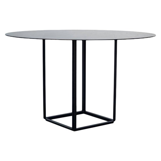 """Contemporary Design Frères The """"Cuboid"""" Minimalist Center or Breakfast Table For Sale"""