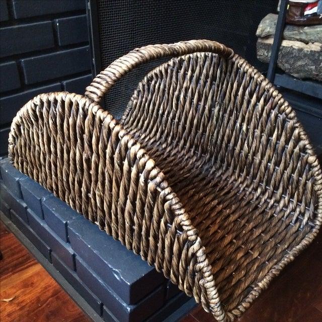 Wicker Log Basket - Image 2 of 6