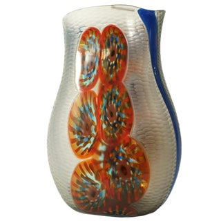 Afro Celotto Battuto Vase For Sale