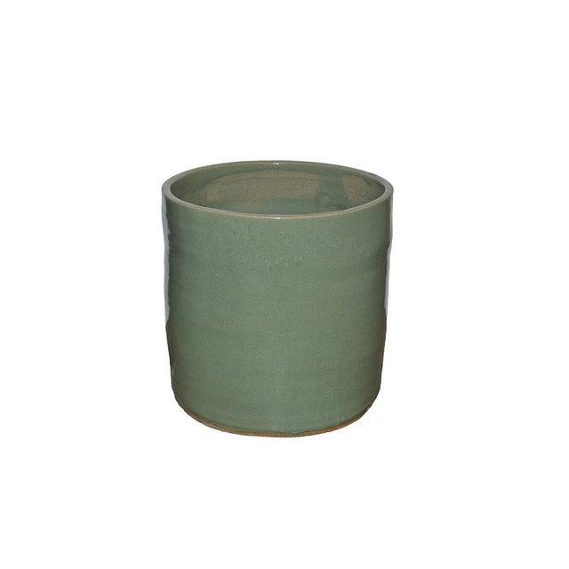 Inner Gardens Artisan Series Glazed Terra Cotta Planter For Sale - Image 4 of 4