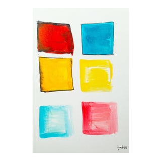 Primary Squares by Peter Max Lawrence