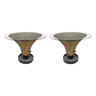 Pair of Gilt Siren Tables