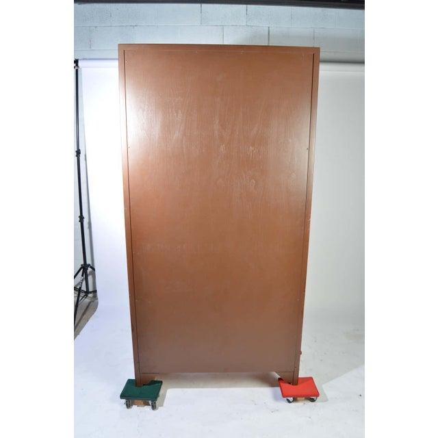 Michael Taylor for Baker Middle East Collection Walnut Highboy Dresser For Sale In Philadelphia - Image 6 of 12
