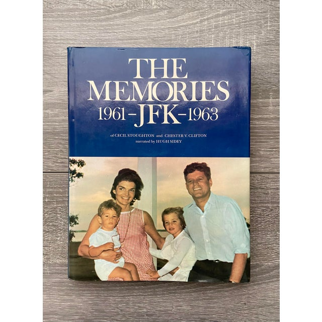 """Vintage 1973 """"The Memories: Jfk, 1961-1963"""" 1st Edition Hardcover Book For Sale - Image 13 of 13"""
