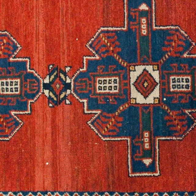 "Early 20th Century Early 20th Century Lori Carpet Runner - 3'2"" x 9'3"" For Sale - Image 5 of 5"