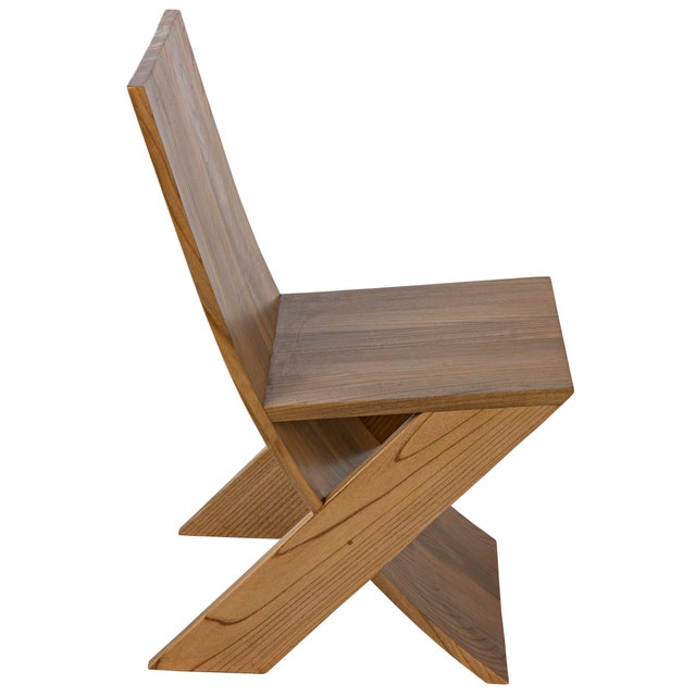 Wood Tech Chair, Natural For Sale - Image 7 of 10