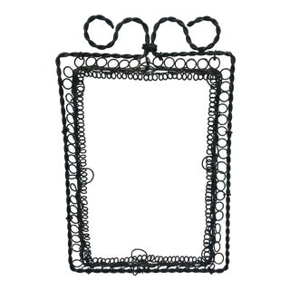 Antique Victorian Wire Frame For Sale