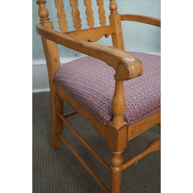 Drexel Heritage Bannister Back Dining Chairs - 4 - Image 5 of 10