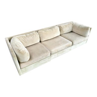 Milo Baughman for Selig Modular Sectional Sofa For Sale