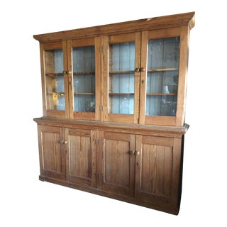 Antique Pine Apothecary Cabinet, Circa 1900's For Sale