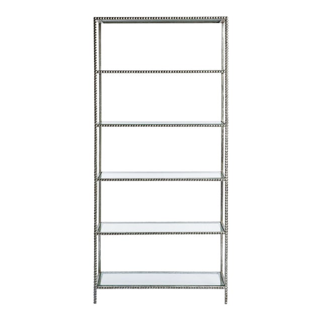 Emporium Home Silver Stud Etagere - Image 1 of 2