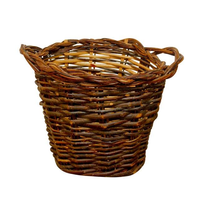 French Vineyard Harvest Basket - Image 1 of 5