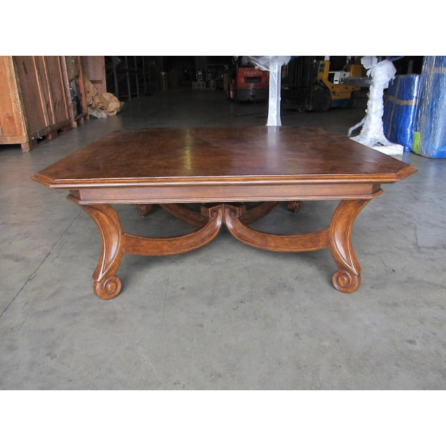 Brown Porto Alegre Coffee Table For Sale - Image 8 of 8