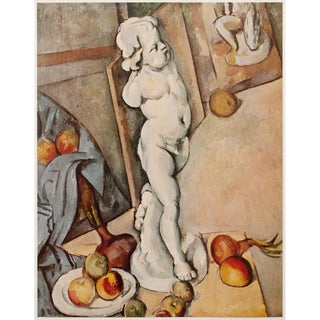 "1950s Paul Cezanne ""Still Life With Cupid"" First Edition Photogravure For Sale"