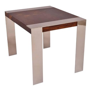 End Table in the Style of Milo BaughmanSOLD For Sale