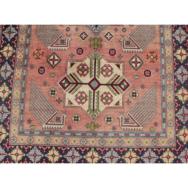 1950s Semi Antique Afshar Rug - 4′ × 6′ For Sale - Image 9 of 12