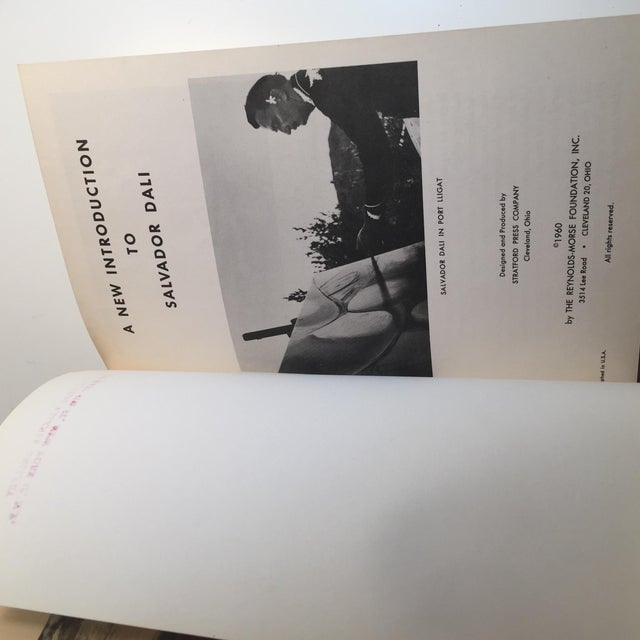 "Mid-Century Modern ""A New Introduction to Salvador Dali"" 1960 Book For Sale - Image 3 of 10"
