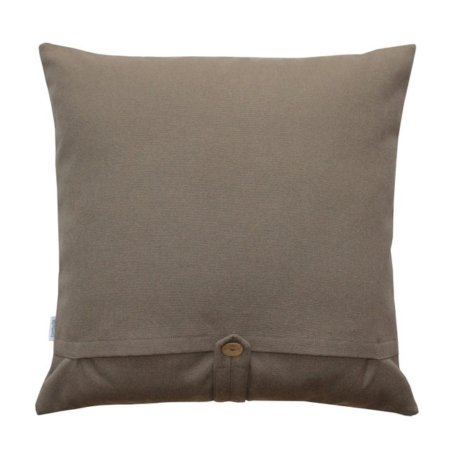 Geometric Modern Design Cotton Pillow - Image 2 of 2