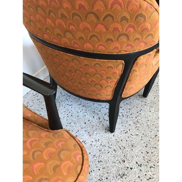 Fabric Pair of Classic Dunbar Janus Armchairs in Larsen Fabric For Sale - Image 7 of 10