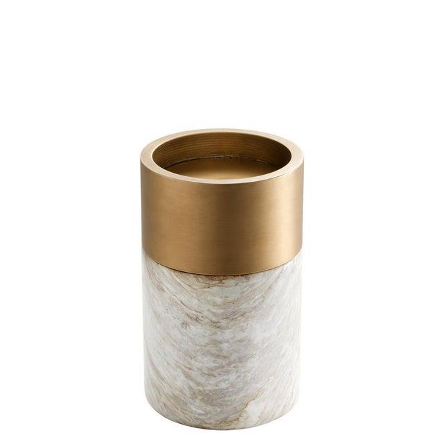 Modern Marble Candle Holder Set | Eichholtz Sierra For Sale - Image 3 of 4
