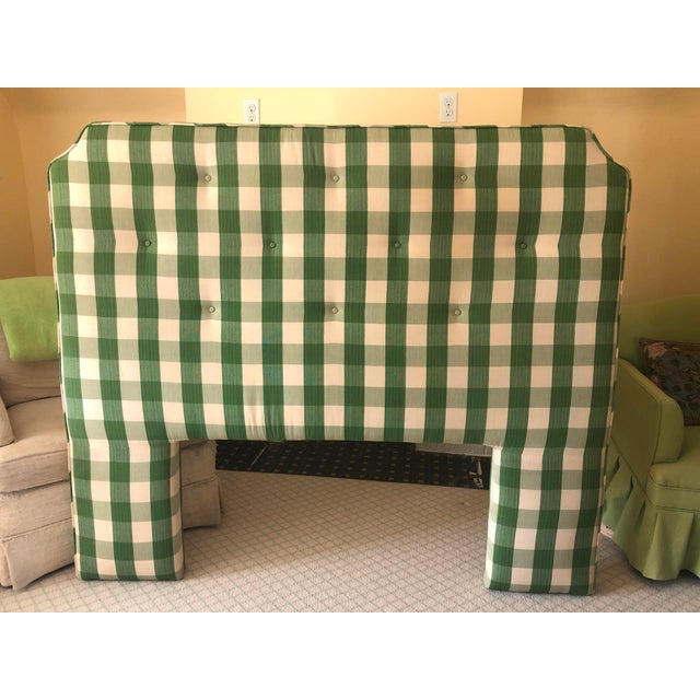 Country Style Upholstered Queen Headboard For Sale In Buffalo - Image 6 of 6