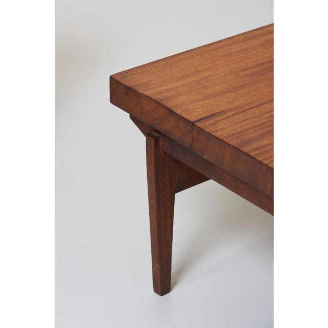 Wood Pair of Signed Studio Craft End Tables, Guatemala, 1960s For Sale - Image 7 of 10