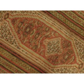 "Antique Persian Senneh Kilim Rug - 4'x 6'4"" Preview"
