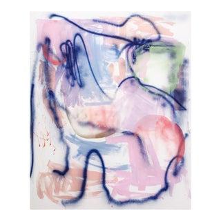 "Manuela Karin Knaut ""Imagine Candy-Coloured Hail, Painting For Sale"