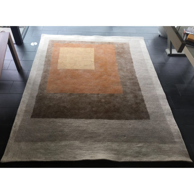 Textile Peace Industry Handmade Rug - 8' x 10' For Sale - Image 7 of 8