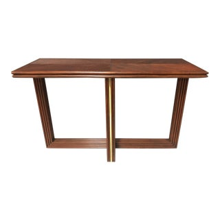 Somerset Bay Rattan Console Table For Sale
