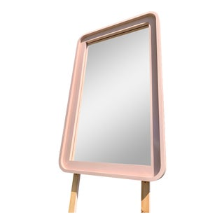 1980's Waterfall Mirror For Sale