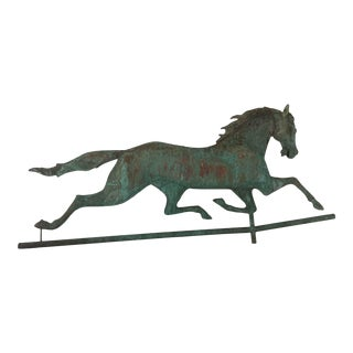 1930s Running Horse Weathervane For Sale