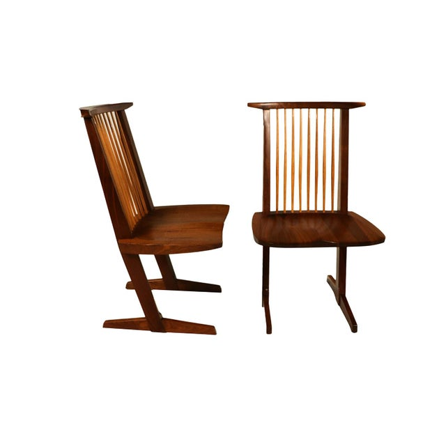 George Nakashima Conoid Chairs - A Pair - Image 11 of 11