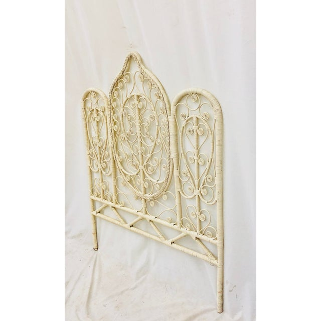 Mid 20th Century Vintage Bohemian Butterfly Headboard For Sale - Image 5 of 9