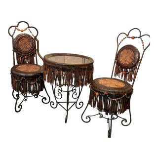 Italian Horacio Cordero & Juan Pablo Molyneux Bistro Set - 3 Pieces For Sale