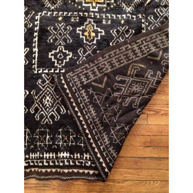 Antique Berber-Style Moroccan Rug - Image 3 of 5