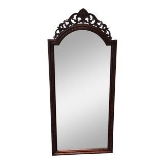 Carved Mahogany Wall Mirror