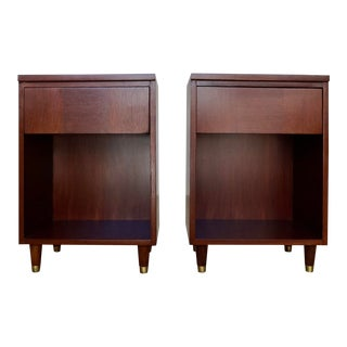 Mid-Century Modern La Period Nightstands - a Pair For Sale